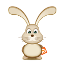 Easter Bunny RSS Emoticon