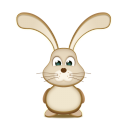 Easter Bunny Emoticon