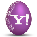 Yahoo White Emoticon
