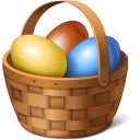 Egg Basket Emoticon