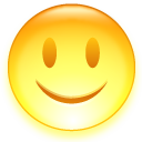 Glad Emoticon