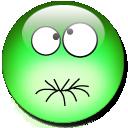 Feel Sick Emoticon