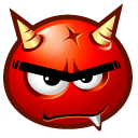 Hell Boy Emoticon