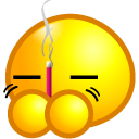 Burn Joss Stick Emoticon