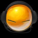 Enjoying Mah Playlist Emoticon