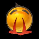 Nose Bleed Emoticon
