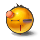 Beaten Emoticon