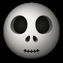 Skull Emoticon