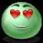 Inlove Emoticon