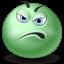 Displeased Emoticon