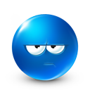 Stay Away Emoticon