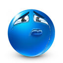 Sincere Sadness Emoticon