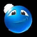 Glad Emoticon