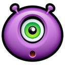 Alien Surprised Emoticon
