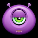 Alien Indifferent Emoticon