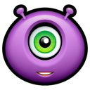 Alien Friendly Emoticon