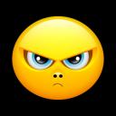 Smiley Upset 3 Emoticon