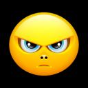 Smiley Upset 2 Emoticon