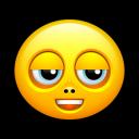 Smiley Untroubled Emoticon