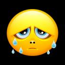 Smiley Teards Emoticon