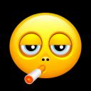 Smiley Smoking Emoticon