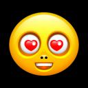 Smiley Love Emoticon