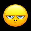 Smiley Grumpy 2 Emoticon