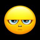 Smiley Grumpy Emoticon