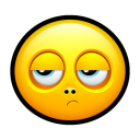Smiley Disappointed Emoticon