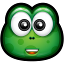 Green Monster 9 Emoticon