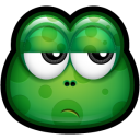 Green Monster 24 Emoticon