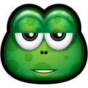 Green Monster 23 Emoticon
