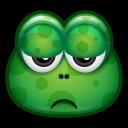 Green Monster 17 Emoticon