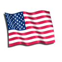 USA Flag Emoticon