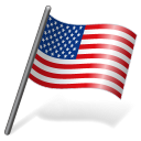 United States Flag 3 Emoticon