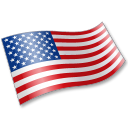United States Flag 2 Emoticon