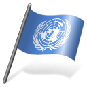 United Nations Flag 3 Emoticon
