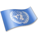 United Nations Flag 2 Emoticon