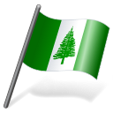 Norfolk Island Flag 3 Emoticon