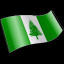 Norfolk Island Flag 2 Emoticon