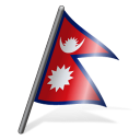 Nepal Flag 3 Emoticon