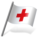 International Red Cross Flag 3 Emoticon