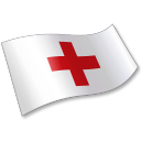 International Red Cross Flag 2 Emoticon