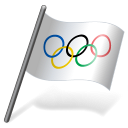 International Olympic Committee Flag 3 Emoticon