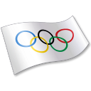 International Olympic Committee Flag 2 Emoticon