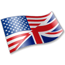 English Language Flag 2 Emoticon