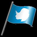 Antarctica Flag 3 Emoticon