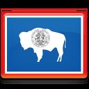Wyoming Flag Emoticon