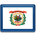 West Virginia Flag Emoticon