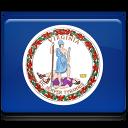 Virginia Flag Emoticon